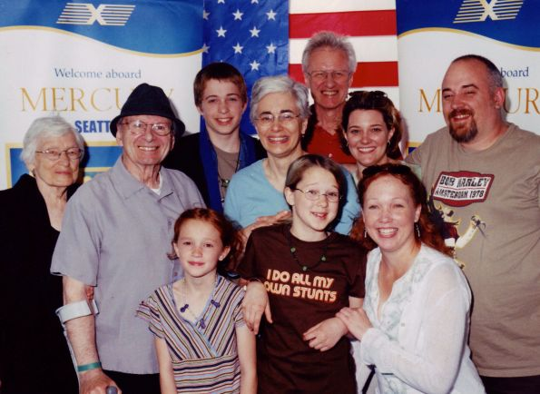 Alaska cruise with my family, 2005