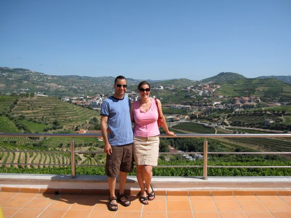 Honeymoon in the Douro Valley, Portugal, 2009