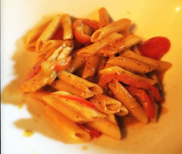 Maple Curry Penne