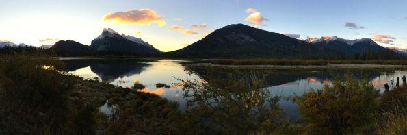 Vermilion Lakes at sunrise