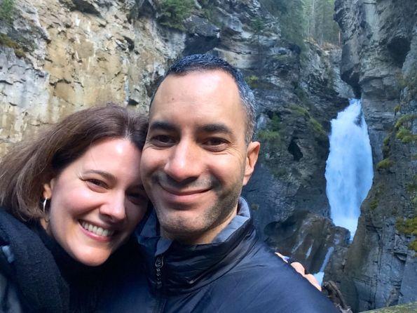 At Johnston Canyon