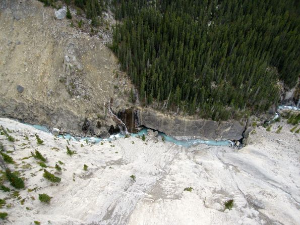View from the Glacier Skywalk