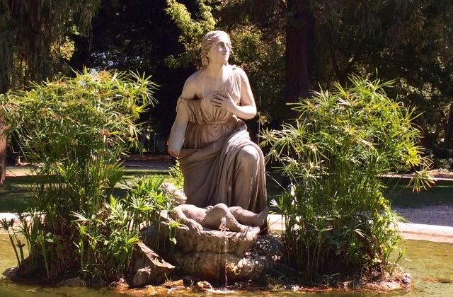 Statue in the gardens