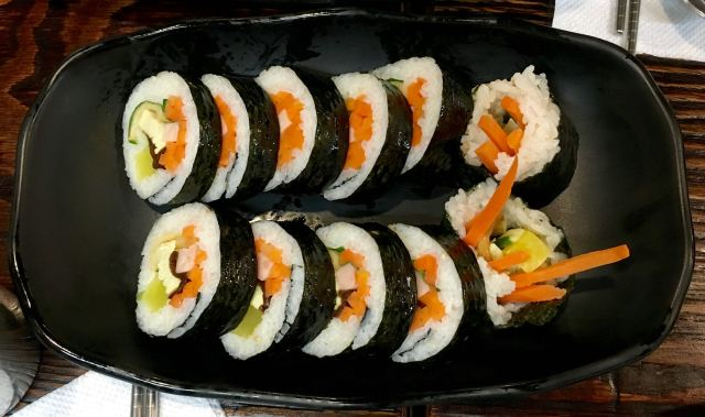 Kimbap - Korean sushi