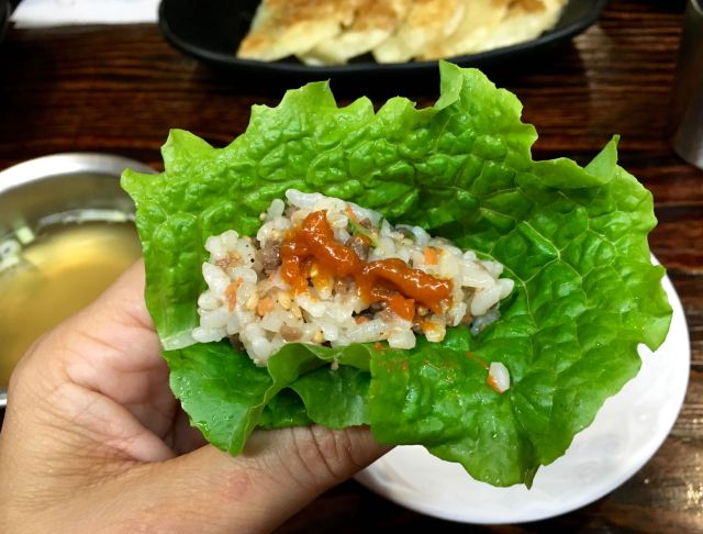 Amazing lettuce wraps
