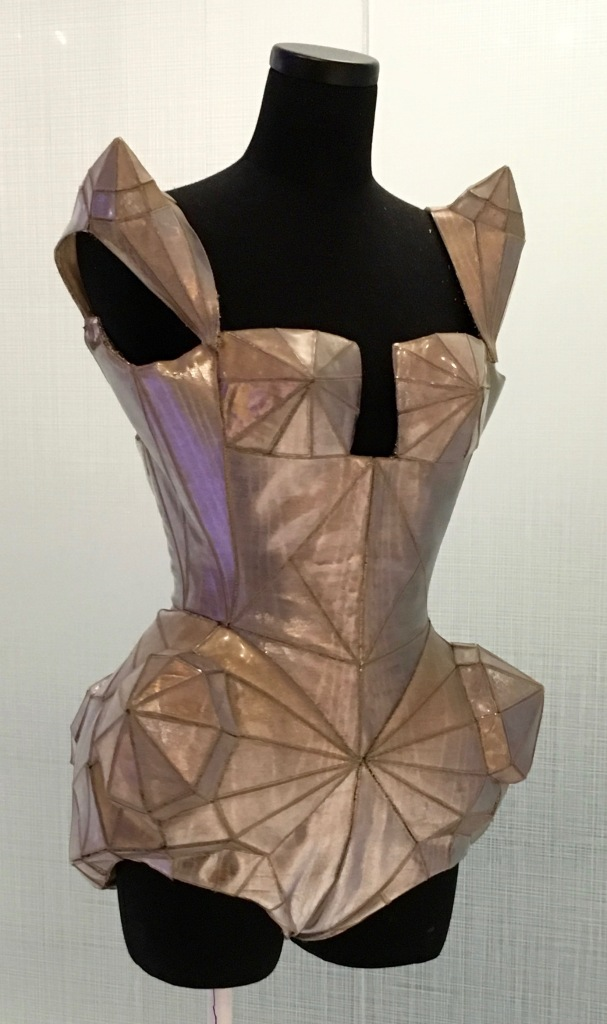 We both loved this futuristic corset