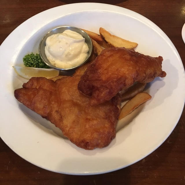 Not the best fish & chips I've ever had, but certainly excellent value!