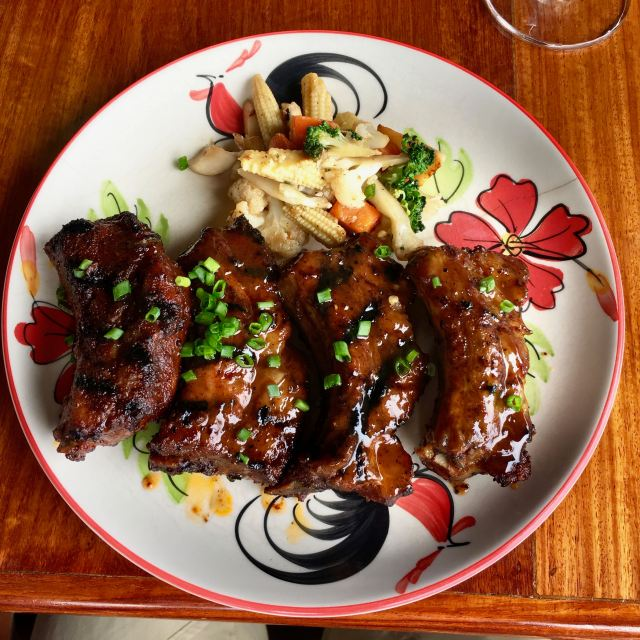 Tamarind glazed ribs